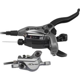 Shimano Alivio BR-M4050 Scheibenbremse/Schalthebel Hinterrad grau